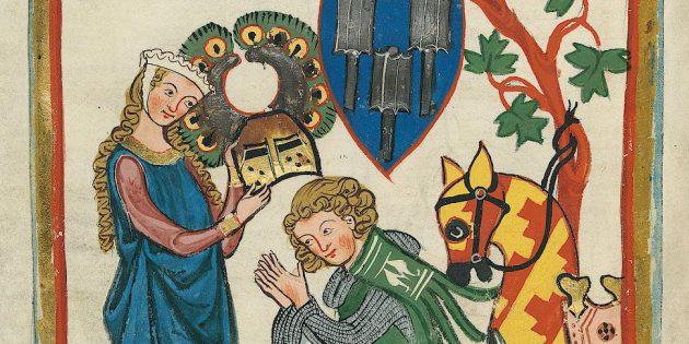 Средневековые рыцари давали странные обеты