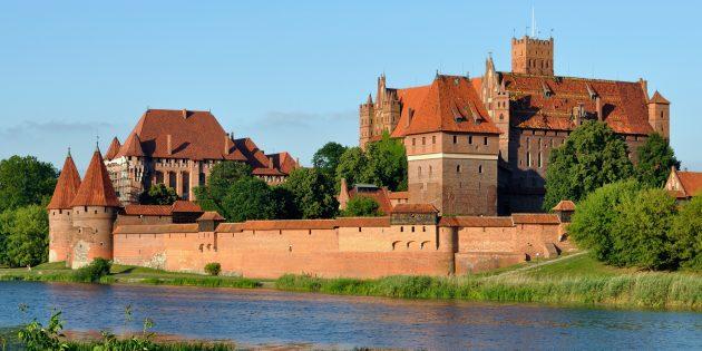 Мифы о средневековых замках: замок Мариенбург в Польше