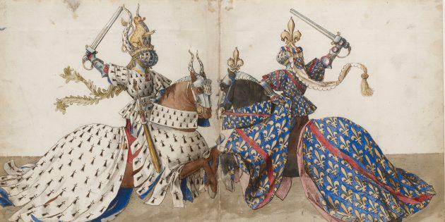 Средневековые рыцари могли умереть на турнире