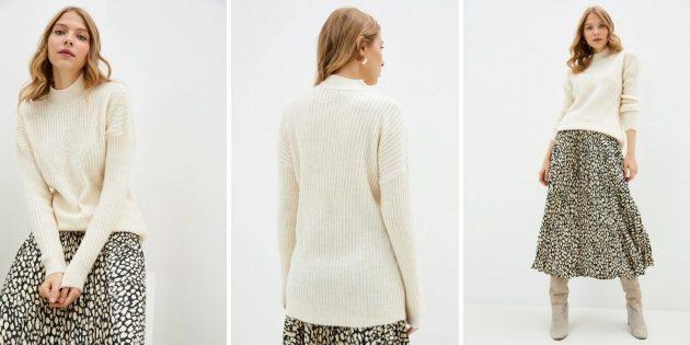 Одежда на осень: женский джемпер DeFacto