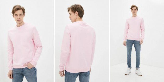 Одежда на осень: мужской свитшот DeFacto
