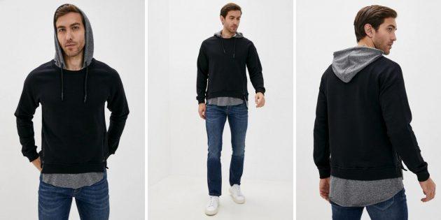 Одежда на осень: мужская худи D.S