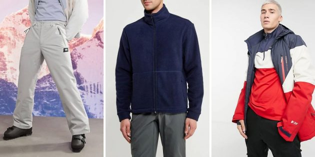 Мужская мода — 2021: «лыжная» одежда