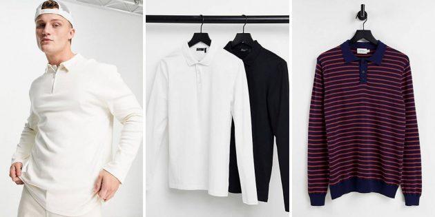 Мужская мода зимы-2021: трикотажное поло