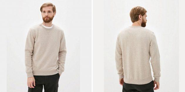 Одежда на осень: мужской джемпер Zolla
