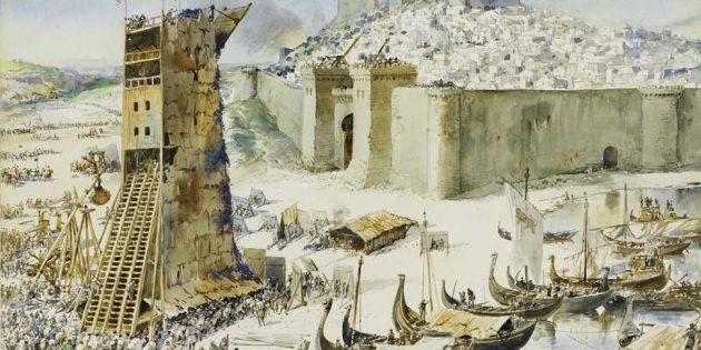 Мифы о средневековых замках: осада Лиссабона в 1147 году
