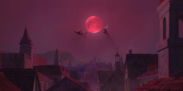 Кадр из аниме «Ведьмак: Кошмар волка»