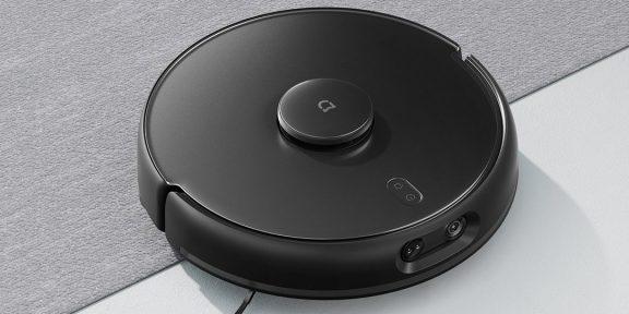 Xiaomi представила новый робот-пылесос. Он стерилизует воду и сам подбирает режим уборки