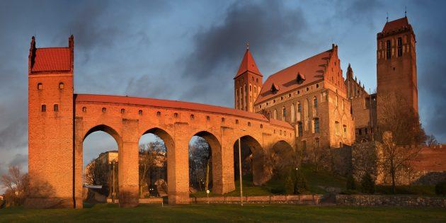 Мифы о средневековых замках: замок Мариенвердер, Квидзыне, Польша