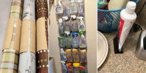 8 простых лайфхаков для хранения вещей