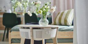 IKEA представила умный очиститель воздуха, встроенный в журнальный столик