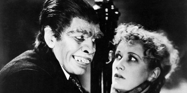 Кадр из фильма ужасов, получившего «Оскар», «Доктор Джекилл и мистер Хайд»