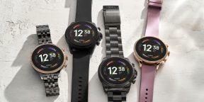 Fossil Gen 6 — первые смарт-часы с процессором Snapdragon Wear 4100+