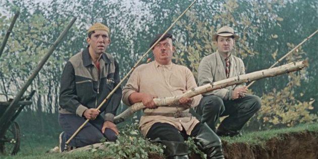 Кадр из фильма Леонида Гайдая «Пес Барбос и необычный кросс»