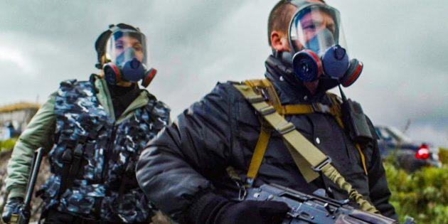 Кадр из сериала «Выжившие»