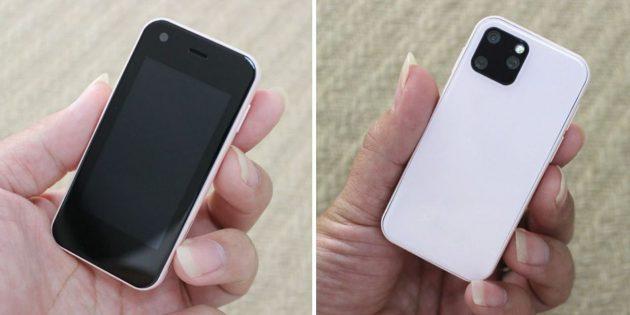 Мини-смартфон