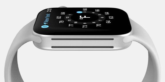 Инсайдеры показали, как будут выглядеть Apple Watch Series 7
