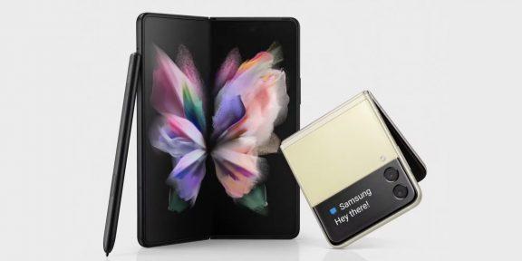 Samsung показала новое поколение складных смартфонов: Galaxy Z Fold 3 и Z Flip 3