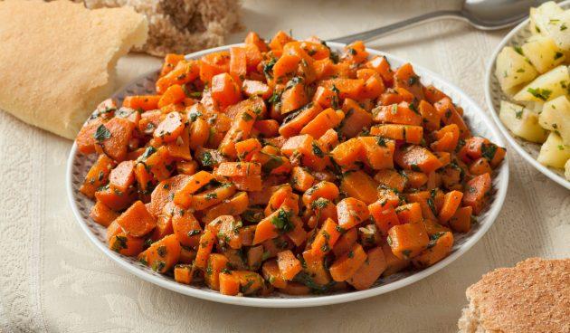 Морковный салат по-мароккански