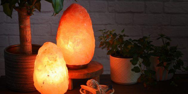 Лампы из гималайской соли