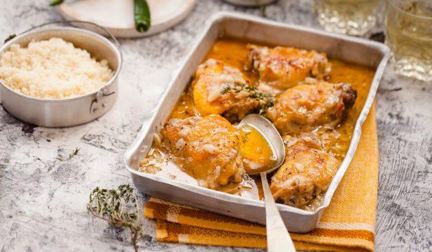 Нежнейшая курица по-еврейски с содой