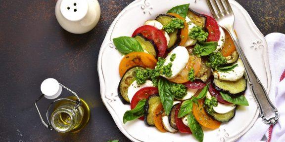 Салаты с баклажанами, после которых вы полюбите овощи ещё сильнее