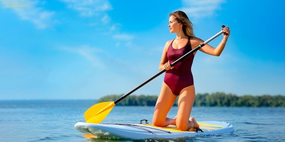 Как кататься на сапборде, чтобы получить кардионагрузку и море удовольствия