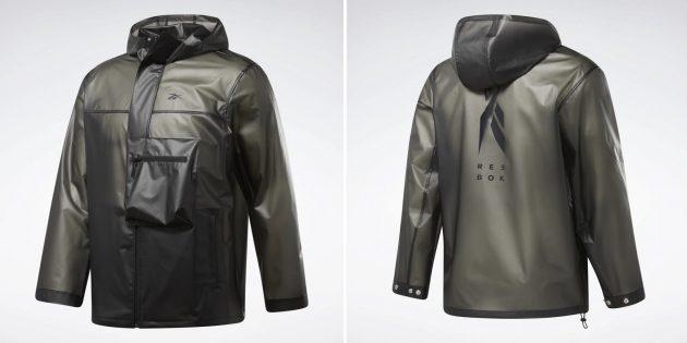 Мужская полупрозрачная куртка
