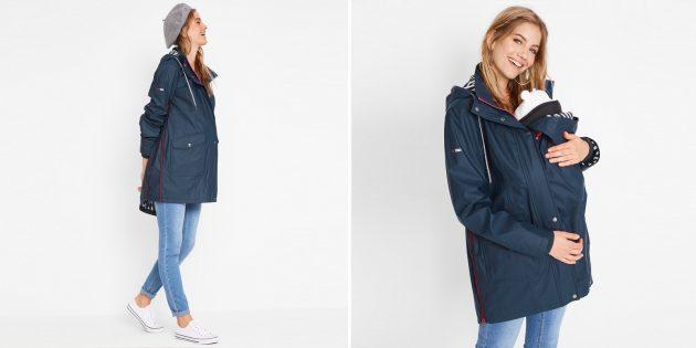 Непромокаемая куртка для беременных