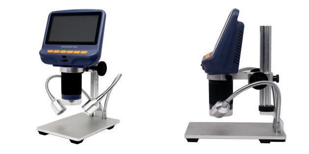 Микроскоп с ЖК-дисплеем