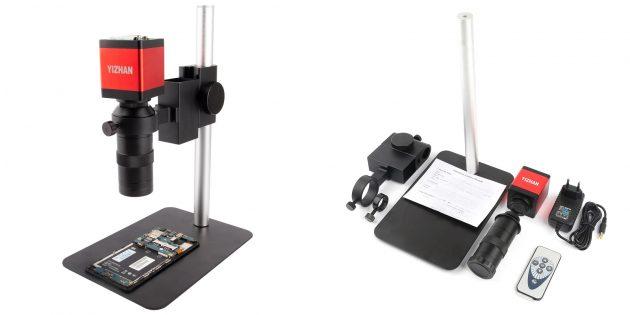 Микроскоп с видеоокуляром