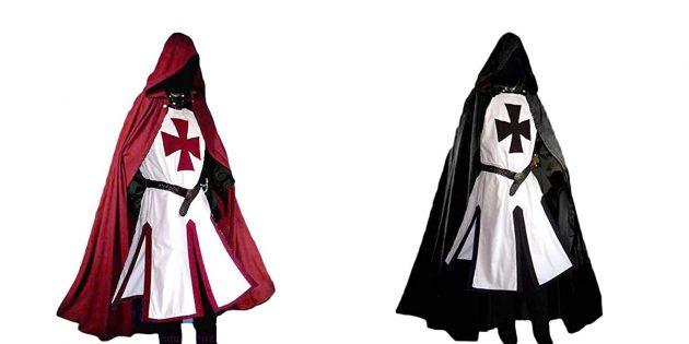 Костюмы на Хэллоуин: крестоносец