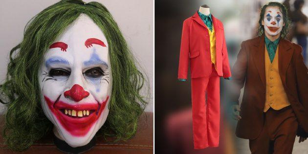 Костюмы на Хэллоуин: костюм Джокера
