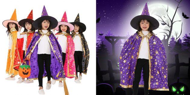 Детский костюм ведьмы