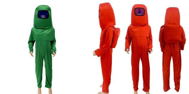 Костюмы на Хэллоуин: детский костюм Among Us