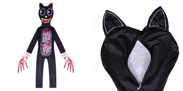 Костюмы на Хэллоуин: детский костюм Cartoon Cat
