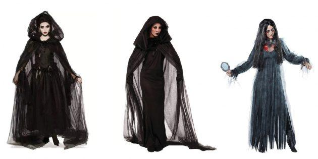 Костюмы на Хэллоуин: костюм ведьмы