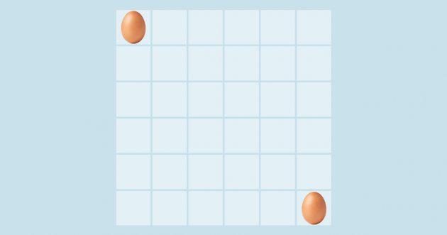 Задача-головоломка про яйца в ящике
