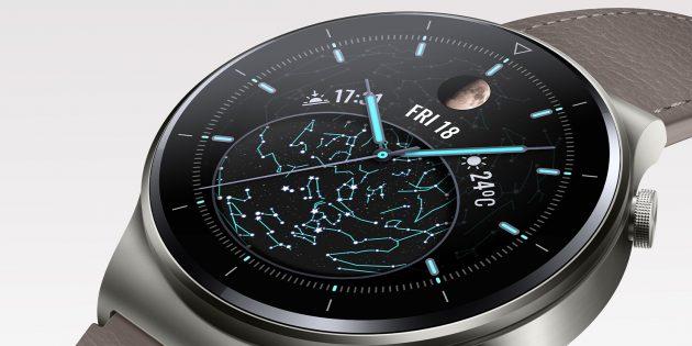 Смарт-часы Huawei Watch GT 2Pro — это эргономичное управление