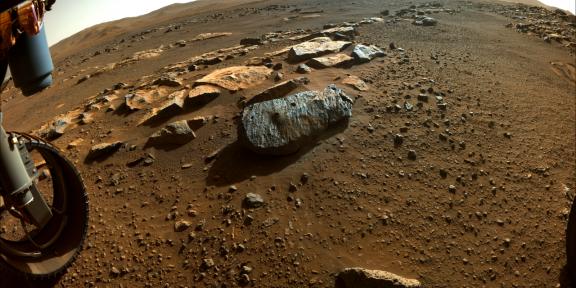 Образцы грунта с Марса подтвердили, что на планете была вода