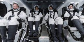 SpaceX отправила на орбиту первый полностью гражданский экипаж