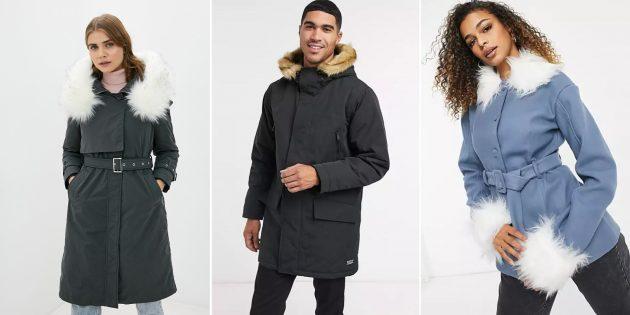 Модные куртки осени-2021: куртки с искусственным мехом