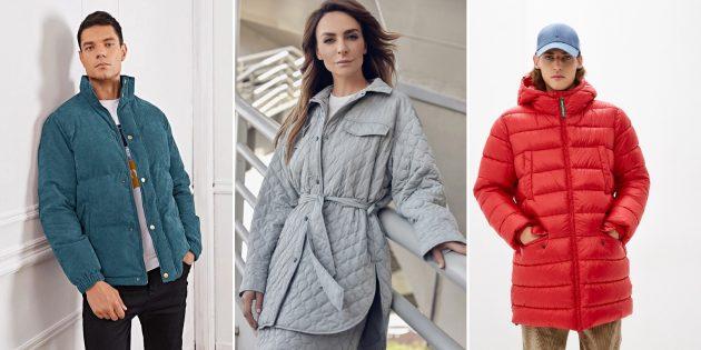 Модные куртки и пальто: стёганые модели