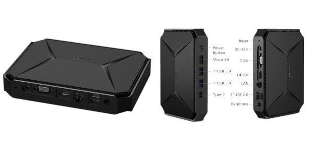 Мини‑компьютер Chuwi Herobox Pro
