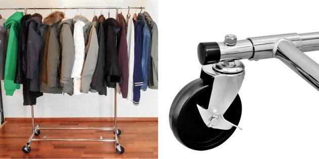 Органайзеры-вешалки для одежды: усиленная стойка