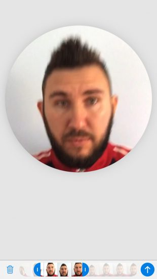 Предпросмотр видео в кружочке в Telegram