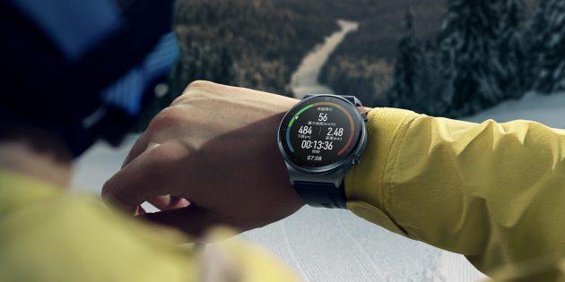 Смарт-часы Huawei Watch GT 2Pro — это современный набор датчиков