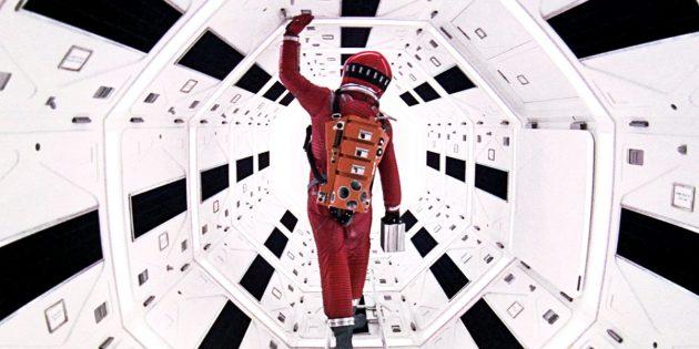 Кадр из научно-фантастического фильма «2001год: Космическая одиссея»
