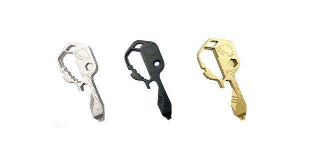 Брелок-мультитул в виде ключа