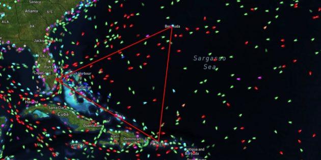 7 мифов о Бермудском треугольнике